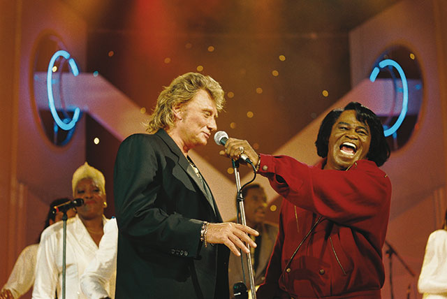 Johnny Hallyday et James Brown - Limpact