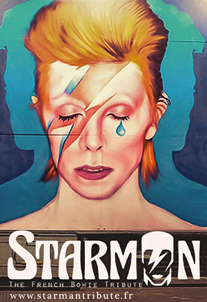 """Starman """"The French Bowie Tribute"""""""