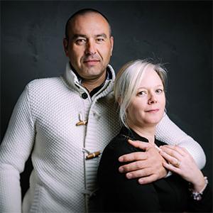 Ludovic Poujol et Mélanie Dufour