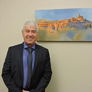 Roger Castel, maire de Solliès-Ville